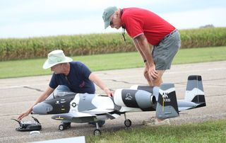 South Dundas has added another tourism draw to its summer line-up. Township council has agreed to clear the air and airstrip at the Iroqouis Airport for a large model-airplane show. The Model Aeronautics Association of Canada (MAAC) got council's approval recently to hold an air show for the July 4, 2015 weekend...