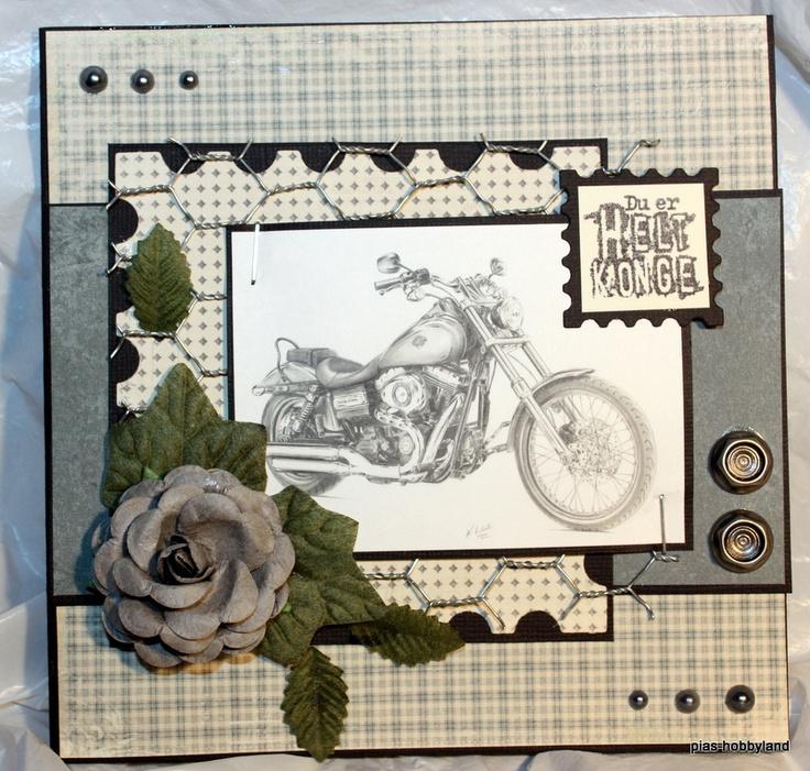 Harley card men