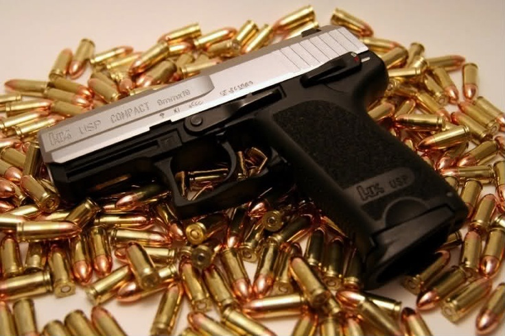 HK USP 9mm. A must have for home defense.