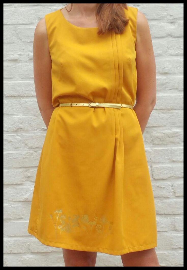 Jessy jurk LMV zonder elastiek in de taille (heel mooie versie met elastiek in tunnel op IeneMiene)
