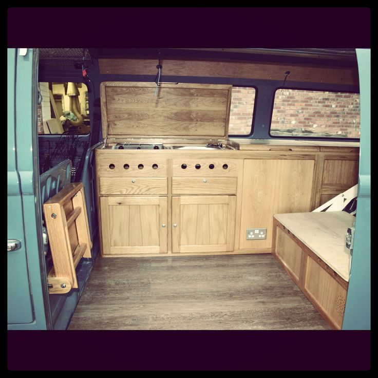 Beautiful Bud with handmade cabinets. Thanks All Things Timber, UK
