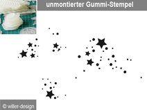 Stempel Sternenstaub, unmontiert