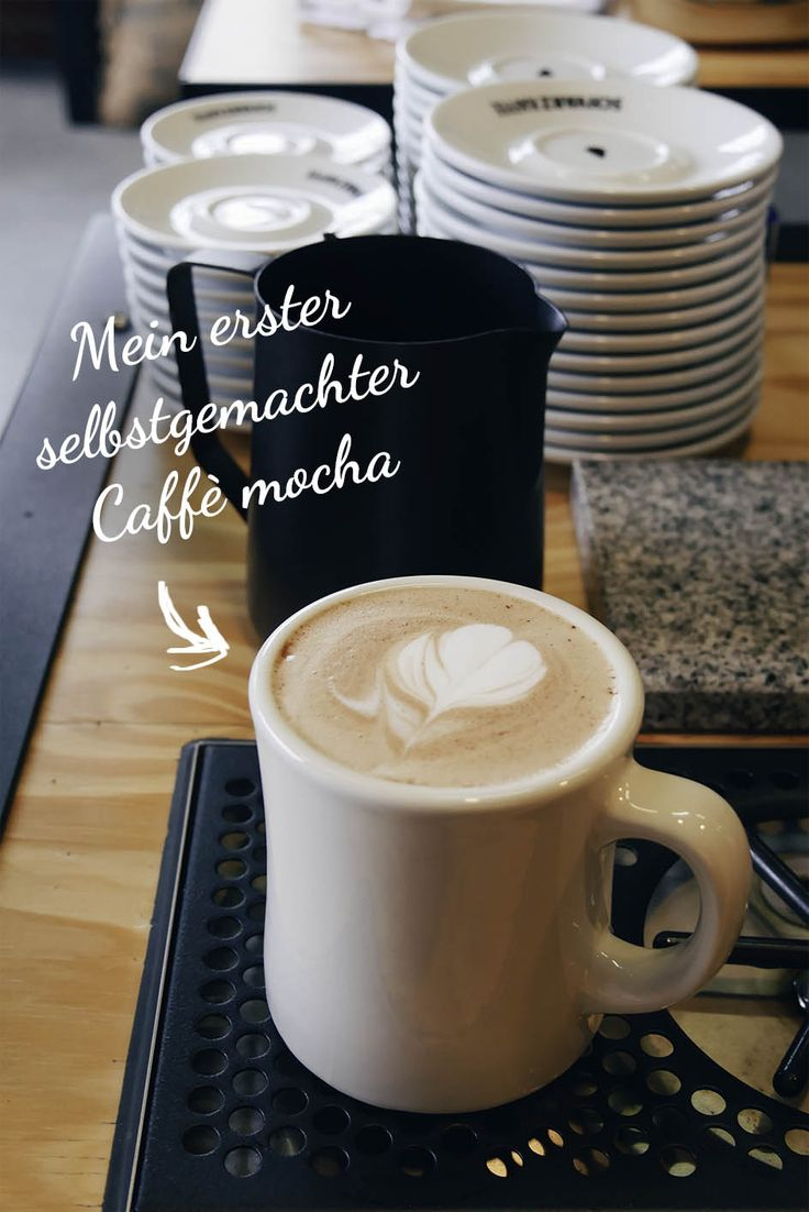 Caffè mocha Kaffeerösterei Schvarz Düsseldorf