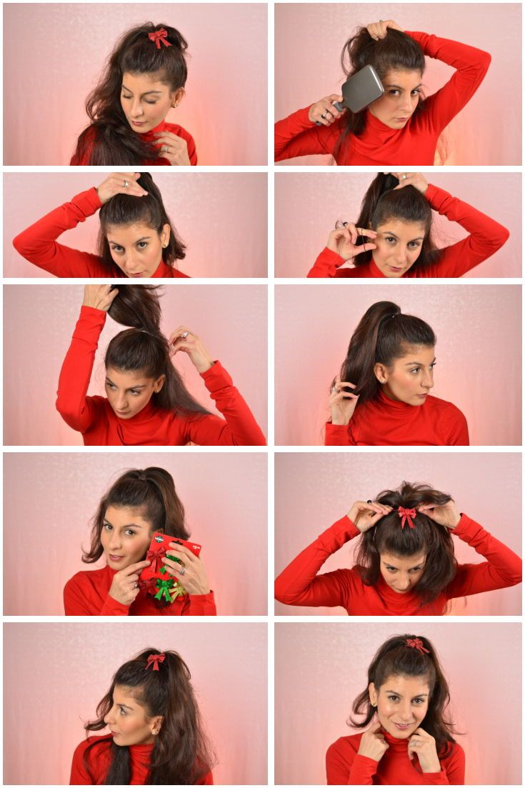Christmas Morning Hairstyle This Hairstyle Is So Easy To Do Fun