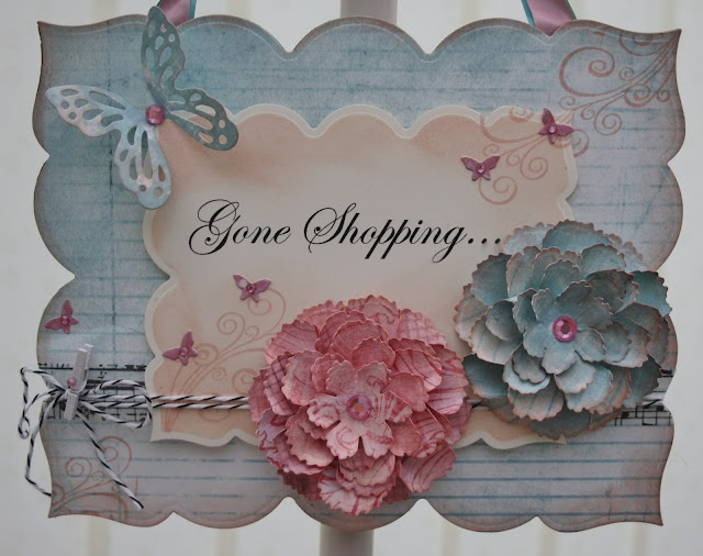Hope and Chances: Gone Shopping! (great idea for a door tag … especially mine!…