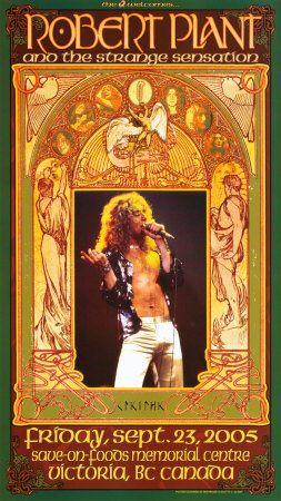 Robert Plant Victoria Concert Art Print at AllPosters.com