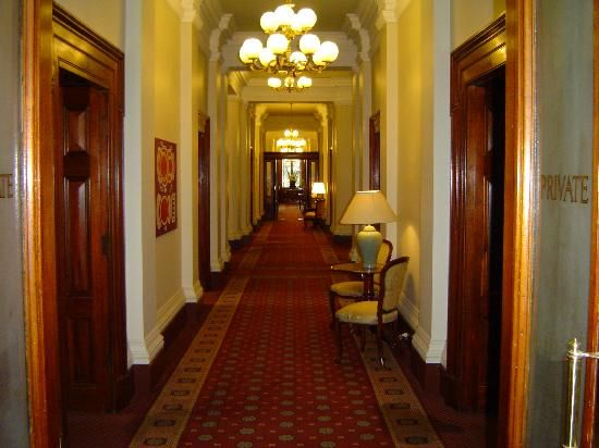 The stunning interiors of the Old Treasury Building