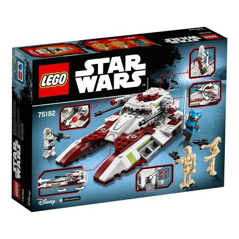 Superb LEGO 75182 Star Wars Republic Fighter Tank Now At Smyths Toys UK! Buy Online Or Collect At Your Local Smyths Store! We Stock A Great Range Of LEGO Star Wars At Great Prices.