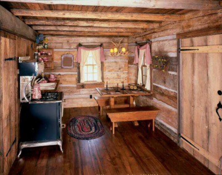 Small Cabin Interior Design Ideas view in gallery rustic kitchen and dining space Find This Pin And More On Cabin Interiors