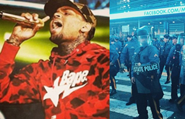 Chris Brown, Big Sean Concert Upstaged by Violence, at Least 1 Injured - Provided by TheWrap