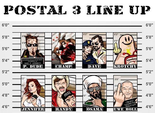 postal line up
