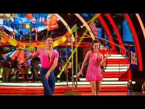 ▶ Caroline Flack & Pasha Kovalev Salsa to 'Maria'- Strictly Come Dancing: 2014 - BBC One - YouTube