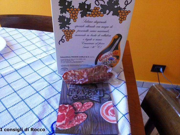 Contest Happy Hour DOP con il Salumificio Peveri salame piacentino dop in frittatina