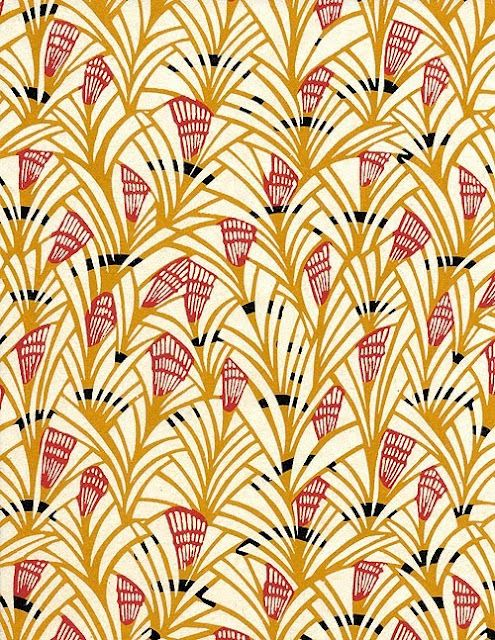Japanese Katazome Paper (yellow)  This paper is decorated with a precise and quite laborious process, which is a combination of stenciling and resist dyeing.