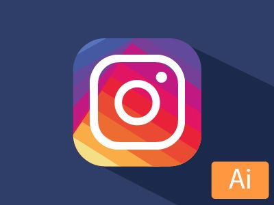 HI everyone. Like 99% of the dribbblers I think ( I leave 1% for those people really appart ahahah)  I  wondered what happened at Instagram logo and what was this choice for. But now it's done here...