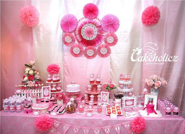 96 Best Pretty In Pink Party Ideas Images On Pinterest