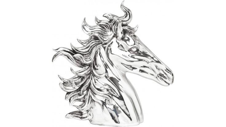 Deco Horse Head Chrome Kare Design