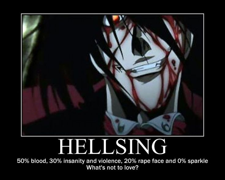 Hellsing Motivation by HappyNomNom13.deviantart.com on @deviantART