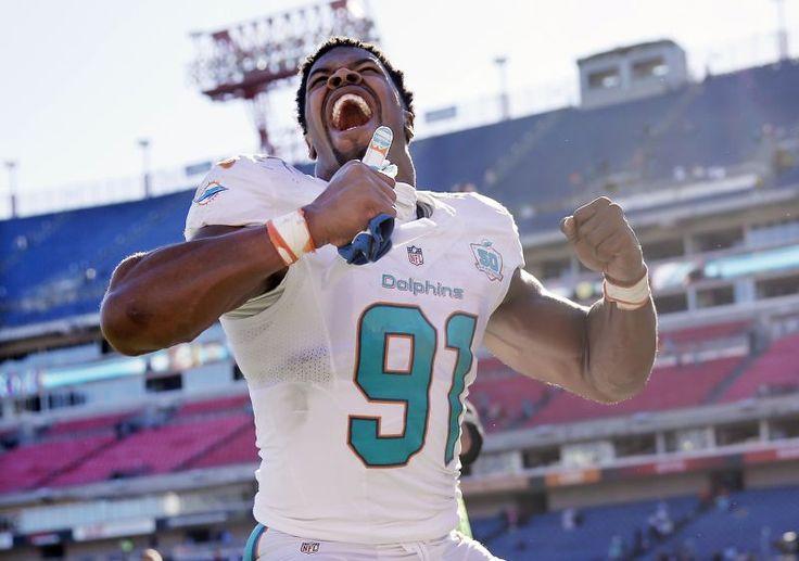 Cameron Wake of the Miami Dolphins