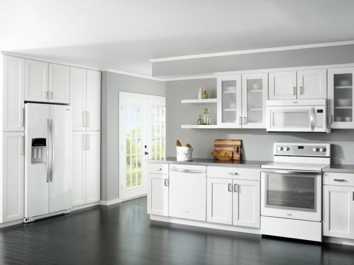 27 besten Kitchen Cabinet White – A Bright And Modern Kitchen Design ...