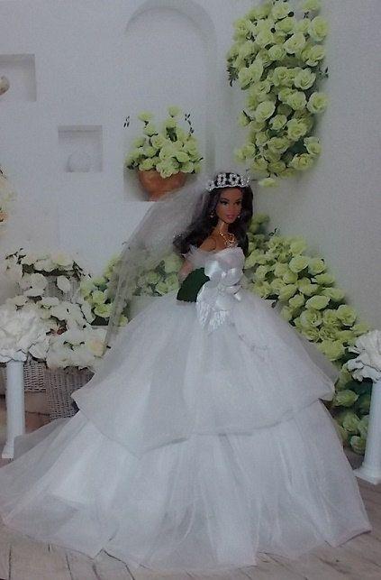 31 best Barbie Wedding images on Pinterest | Short wedding gowns ...