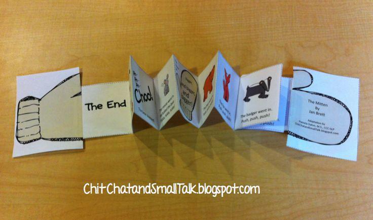 La Moufle: petit livre à déplier