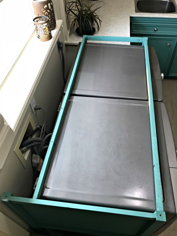 How To Build A Wood Laundry Table Laundry Table Old Wood Table