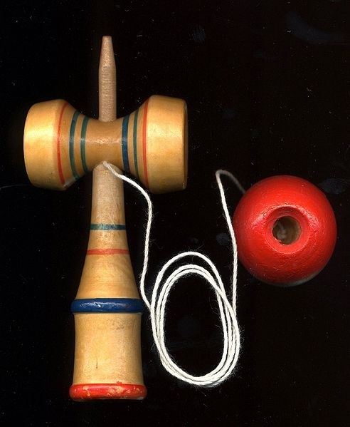 Kendama - traditional Japanese game-toy