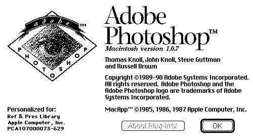 Adobe Photoshop Version 1.0 Source Code ( Free to download & Study ) | Computer History Museum