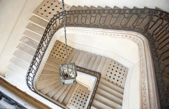 Beautiful Parisian staircase
