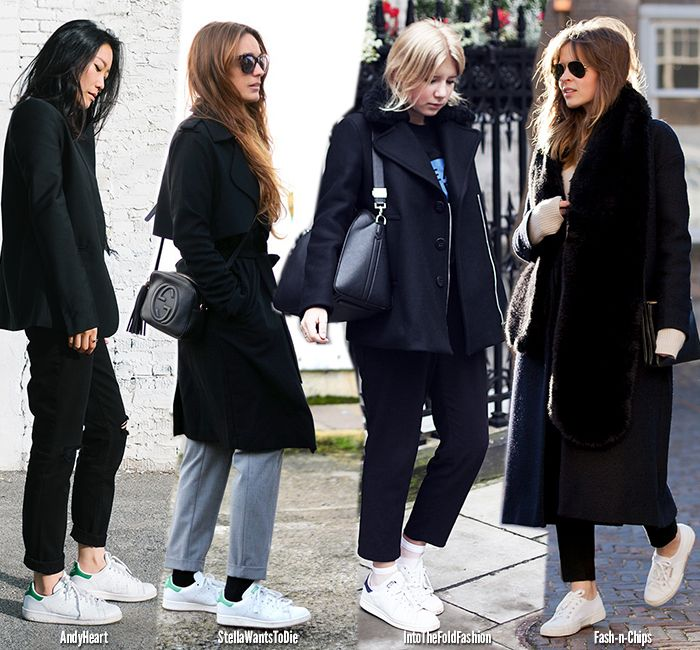How to Wear Winter Sneakers