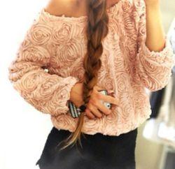 Rose Sweater - Beige