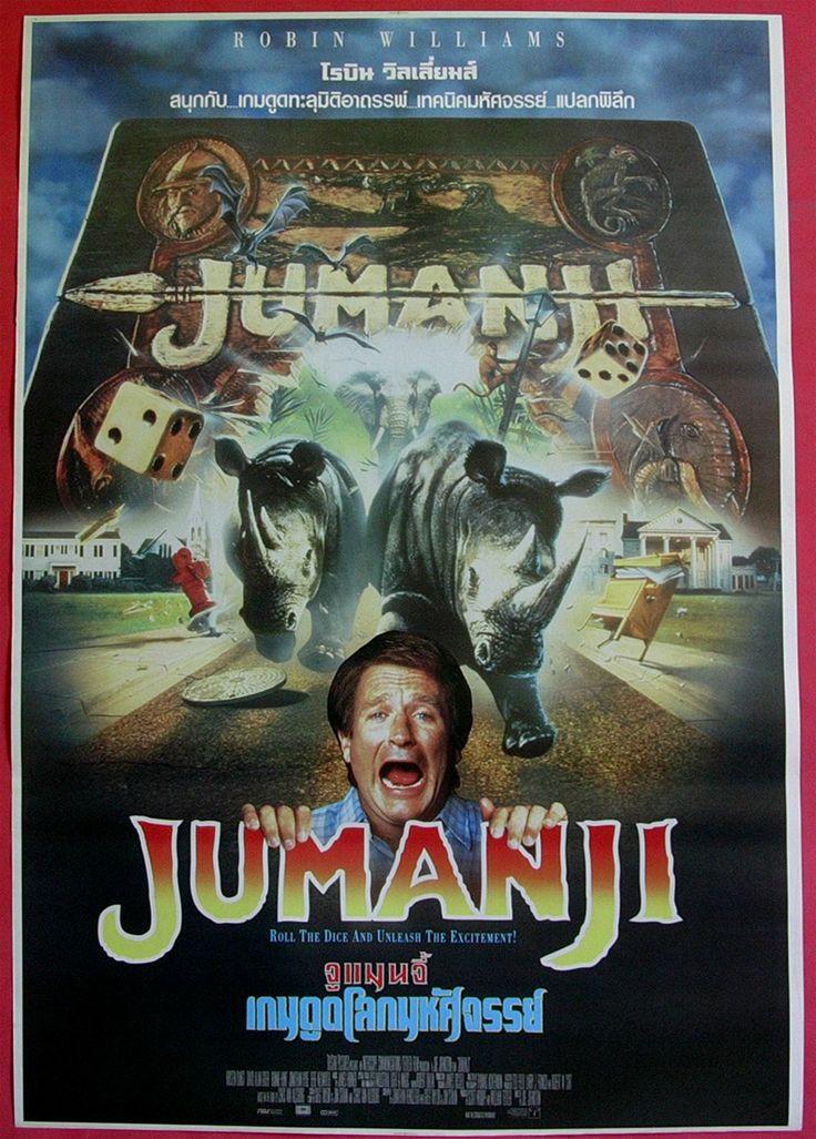 robin williams movie posters | ... buy more now warehouse posters jumanji 1995 thai movie poster original