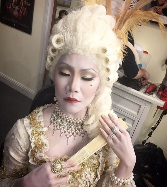 Julie Chen goes vogue for Halloween
