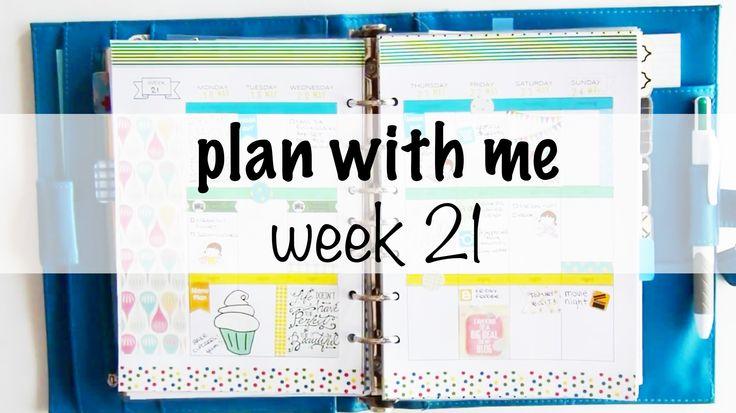 Plan With Me   Week 21
