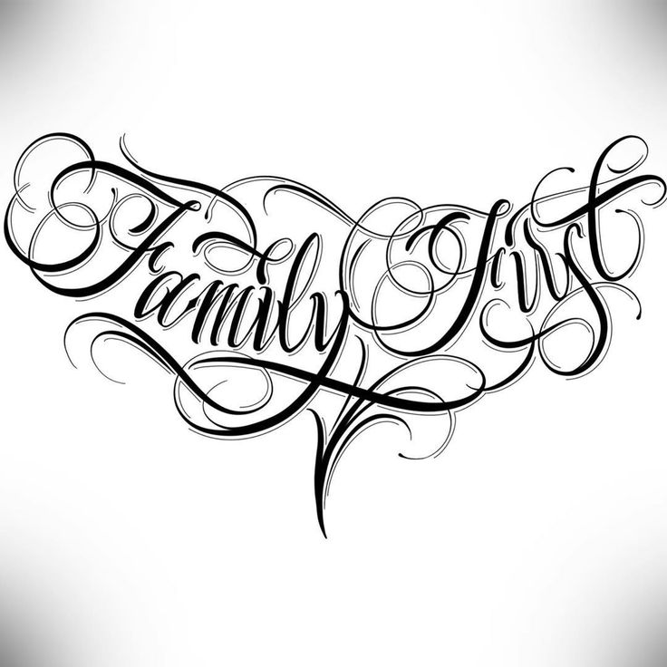 Calligraphie « Family First - #« #Calligraphie #Family # ...