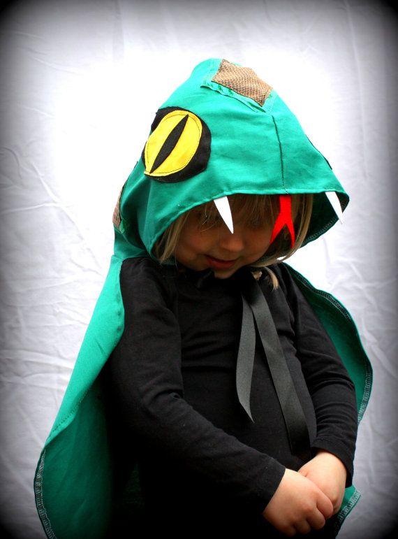 Snake Costume Cape   - girl boy costume - fancy dress - halloween - party - kids