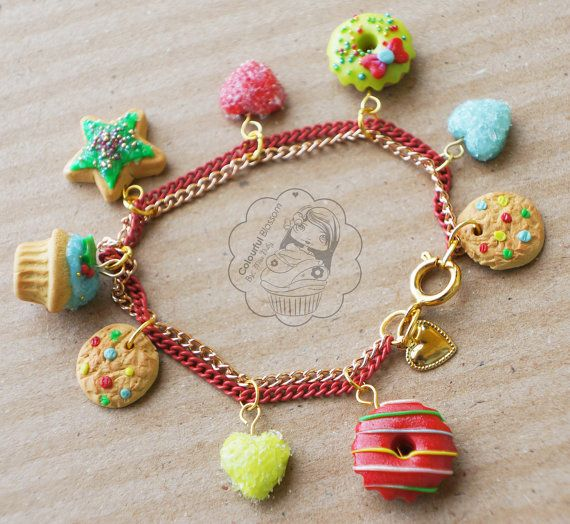 522 best images about fimo bracelet on polymers donuts and armband
