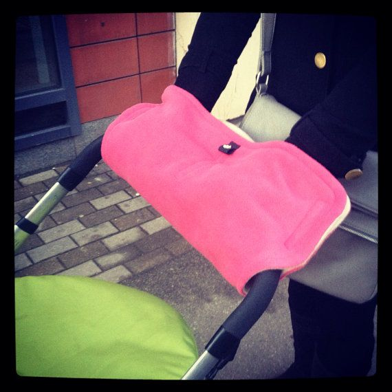 Hand warmer/gloves for stroller buggy pram pushchair/ by AGNIAZEPA