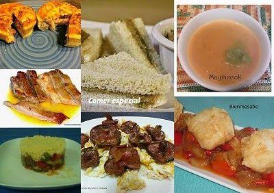 Octavo menú semanal para cenas ~ Comer especial