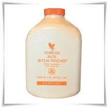 Χυμός Αλόης με Ροδάκινο | Forever Aloe Bits n' Peaches της Forever Living Products.  #ForeverLivingProducts  #AloeVeraJuice  #AloeVera