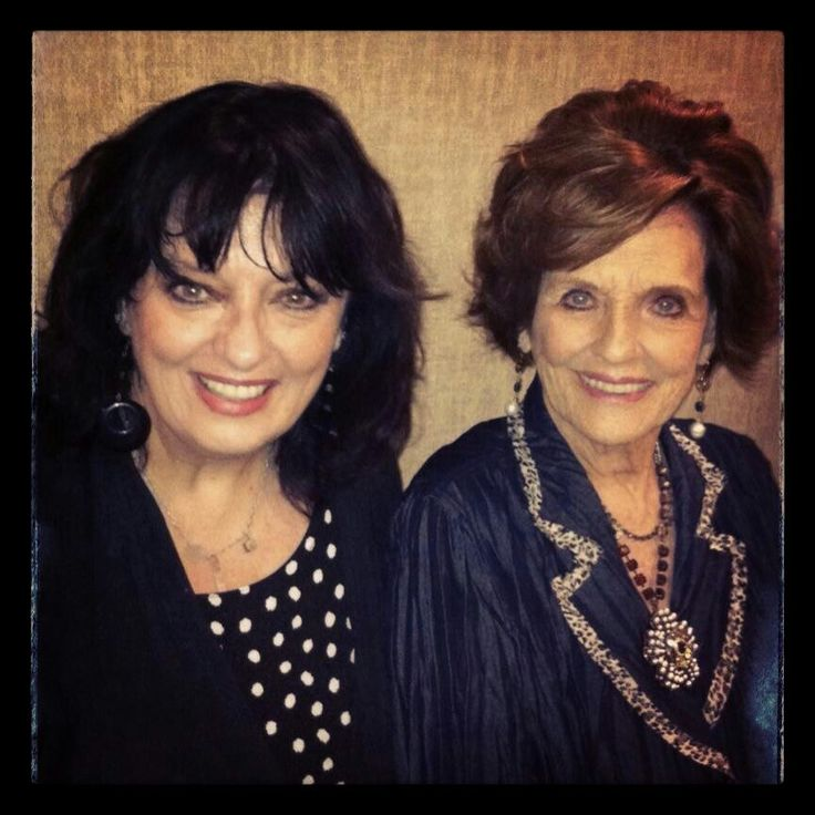 Angela Cartwright and Marjorie Lord of the Make Room for Daddy television show. Also starred on the show Danny Thomas.