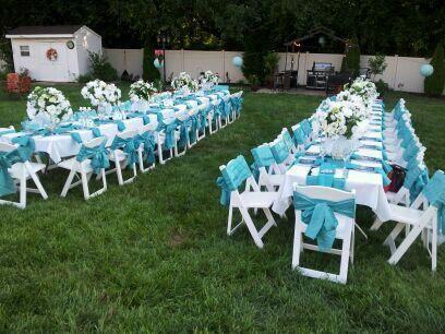 Tiffany Blue Garden Party Birthday Ideas