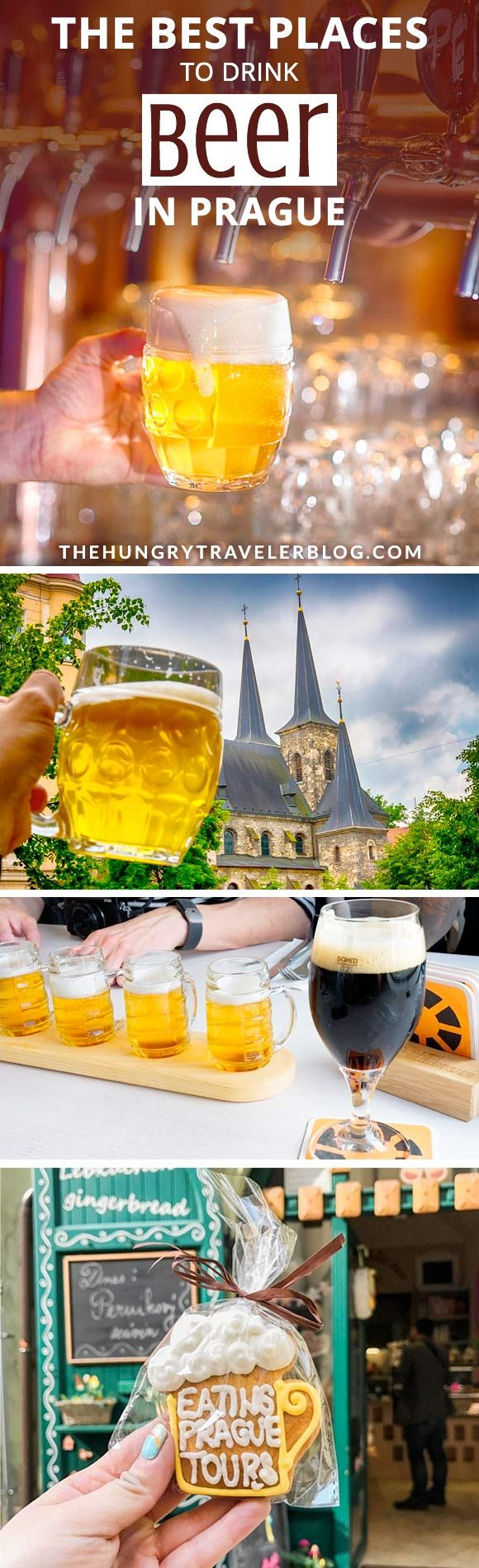 The absolute best places to drink beer in Prague!! All of these places have GREAT BEER and AMAZING VIEWS of the beautiful city!