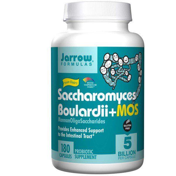 Jarrow Formulas, Saccharomyces Boulardii + MOS, 5 Billion, 180 Capsules