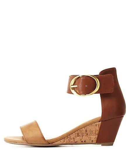 Love these simple low wedges!                                                                                                                                                                                 More