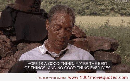 The Shawshank Redemption (1994) movie quote