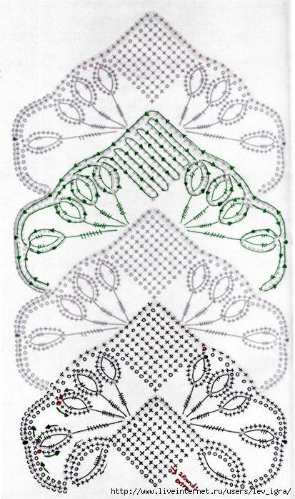 Pizzo irlandese: flower pattern - maomao -