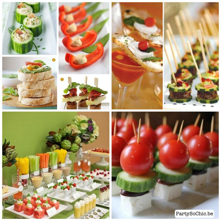 Refreshing buffet for this summer's parties...
