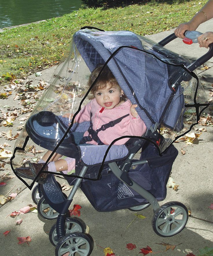 This Dreambaby Stroller Weather Shield by Dreambaby is